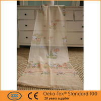 environmental voile base fabric cartoon printing kid curtain