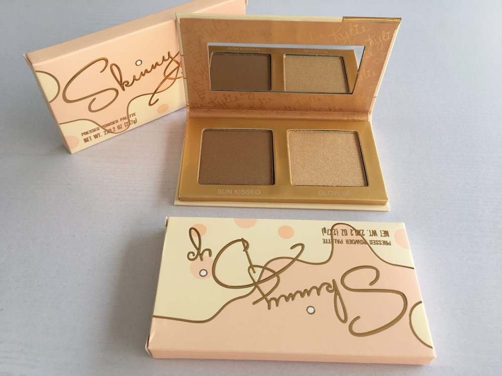 Kylie vacation Cosmetics Skinny Dip Face Duo Highlighters Skinny Dip Highlighters 2color Face Powder Bronzer Highlighters