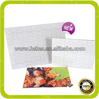 Rectangle jigsaw puzzles for dye sublimation promotional