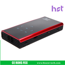 Mini DLP Support Wifi Bluetooth HDMI Android 4.2 Projector 854*480 Phone android Laptop mini led phone projector