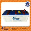 12V 140AH N140 dry charged lead acid battery Best price 12v bus truck battery