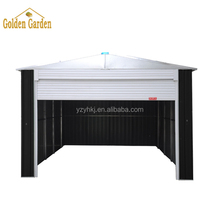 Outdoor metal car parking shed
