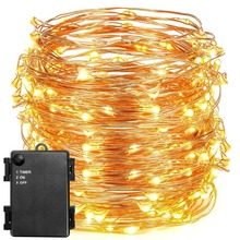 Waterproof 3*AAA Battery Operated String Fairy Light with Timer for Bicycle