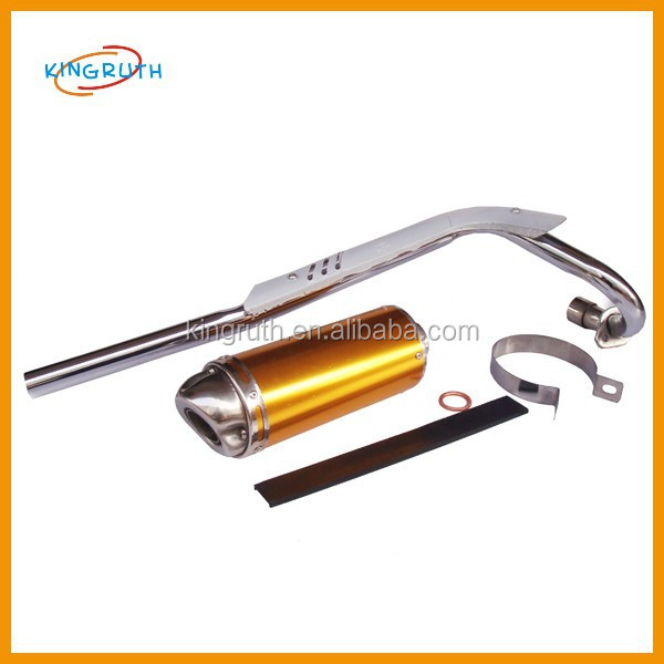 Good performance exhaust fit for CRF50/70 pit bike exhaust