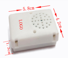 programmable sound module/recording box for plush toy