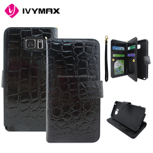 Wholesale for Samsung galaxy covers note 5 folding wallet case