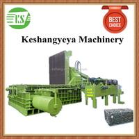 800T China Heavy Duty Horizontal Scrap Metal Baling Press Machine