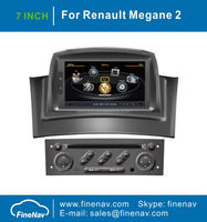 "7"" 2 din Car DVD GPS for Renault Megane II with Gps Navi,3G,Wifi,Bluetooth,Ipod,Free map Support DVB-T,DVR"