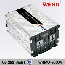 Two years warranty 2000w ups inverter battery charger battery