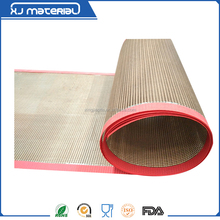 Teflon Coated Conveyor Belt with edges biding and joints fixed/1*0.5mm in mesh size