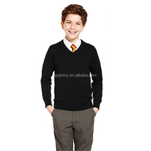 100% cotton jumper school-uniform sample