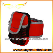 Neoprene phone holder/sleeve with your LOGO at your hand