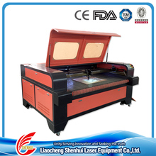 2016 China factory supply 1610 1600x1000mm MDF Wood Plywood laser cutting machine for fabric