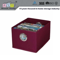 Top grade sell well plexiglass dvd multipurpose storage box