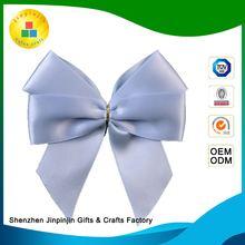 Metallic wide mesh Christmas Deco Gift ribbon bow