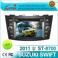 Car dvd player for Suzuki Swift, 2012 new model & hot selling