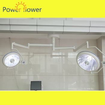 FDA,CE ISO halogen shadowless operation lamps 700/700 by chinese OEM  manufacturer hospital medical equipment hot sales price