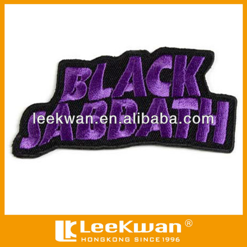 band logo of embroidery letter patch