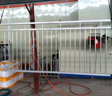 different types of aluminum garden fence / yard guard fence