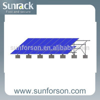 solar panel ground mount system pv solar support