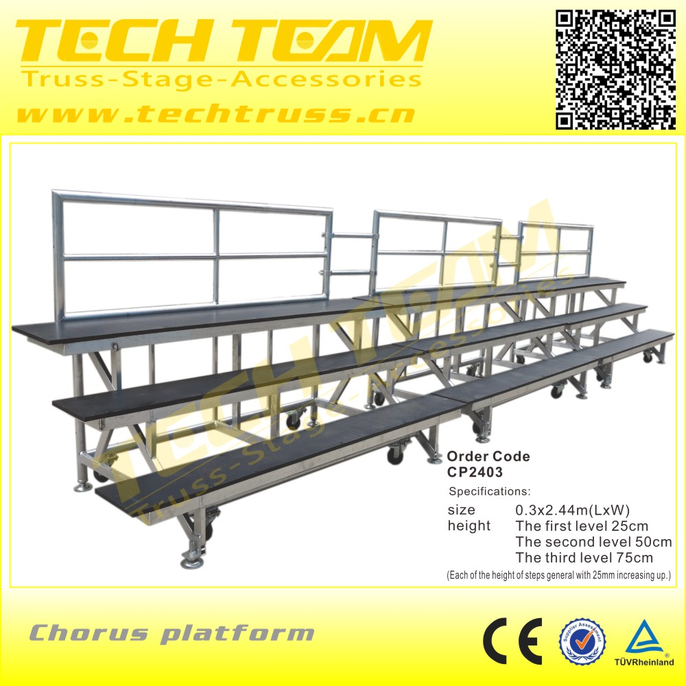 Factory Price Aluminum Outdoor Bleachers/Bench for School