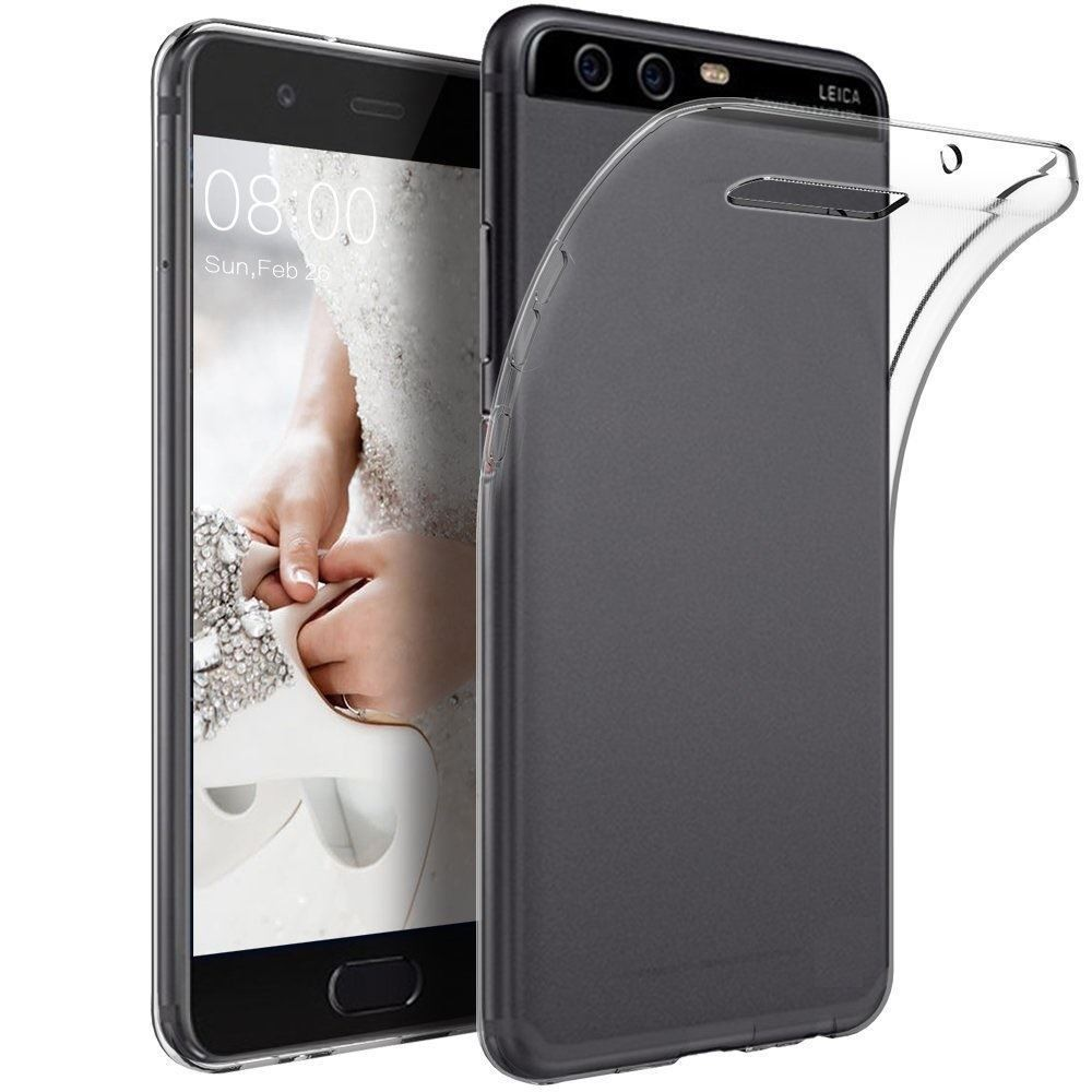 2017 nice quality MOQ 50 ultra thin soft clear custom tpu case for huawei honor P10