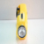 Protable Yellow ABS Mobile charge radio