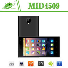New model 4.5 inch MTK6582M quad core Android 4.4 dual camera yxtel android mobile phone
