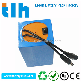 High quality 12v 10ah rechargeable li-ion battery