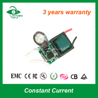 9w mini led power supply constant current gu10 led driver for led bulb