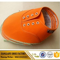 Factory Directly Sale Shoes Upper Canvas