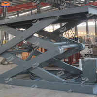 China manufacturer stationary scissor lift jacks