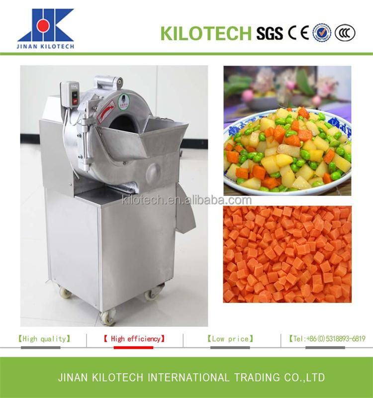 Multifunctional Automatic Commercial Vegetable Dicer Machine