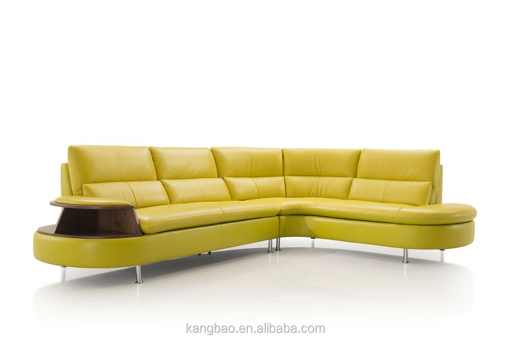 2017 Vv Sofa Living Room Furniture Home Yellow Real Leather Sofa Buy Living Room Sofa