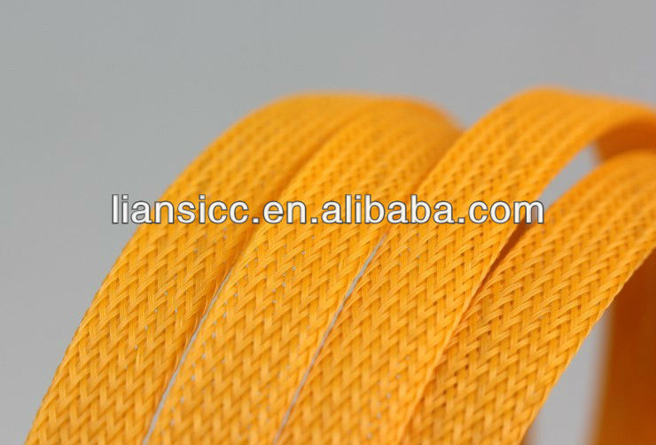 Braided expandable cable sleeves