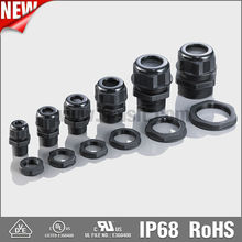 NPT Type PA Nylon Material and IP68 Protection Level Different Size Type Cable Glands