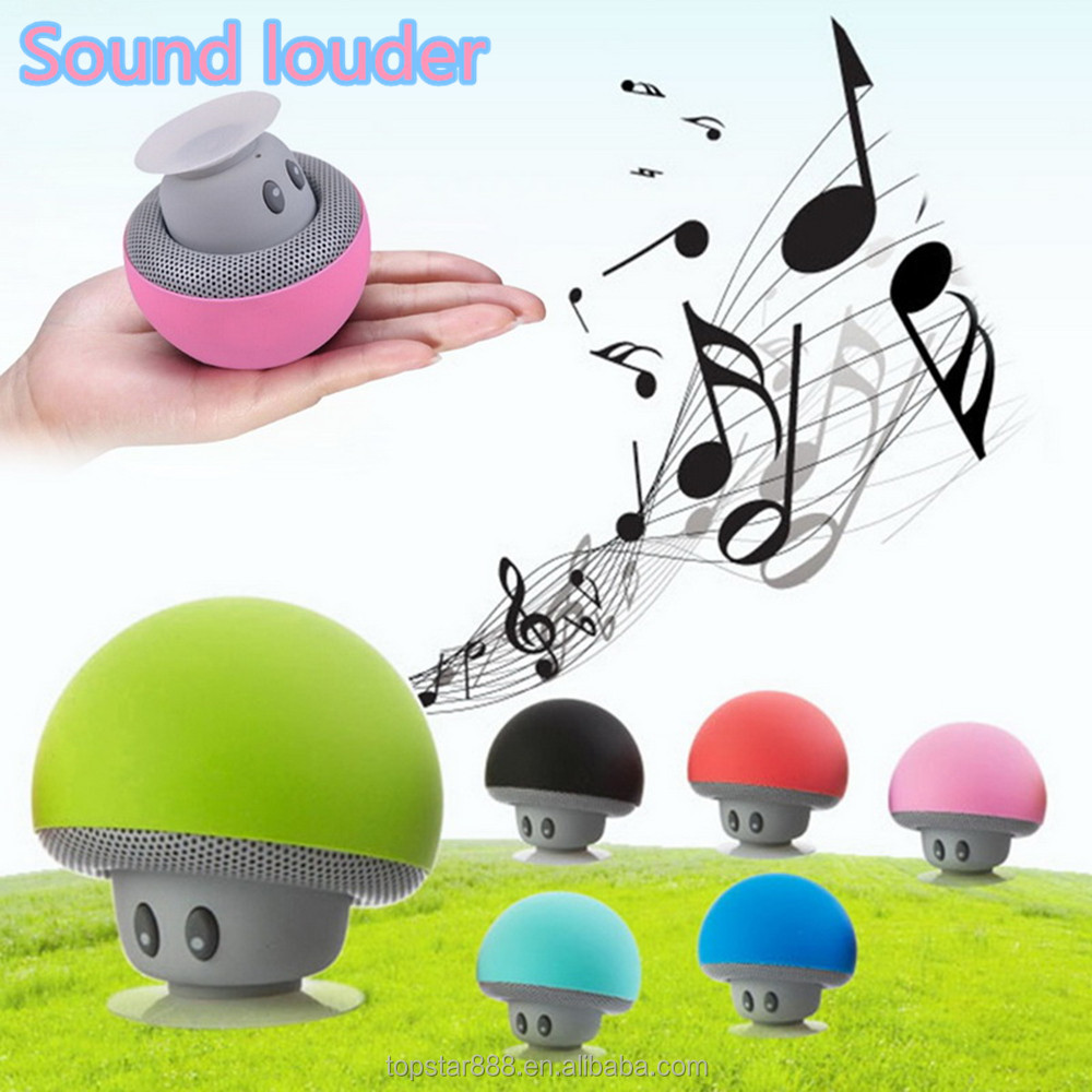 Wireless Mini Bluetooth Speaker Portable Mushroom Waterproof Stereo Bluetooth Speaker for Mobile Phone and <strong>Computer</strong>