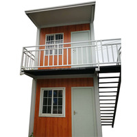 Low Cost Double Storey Container Modular Prefab House