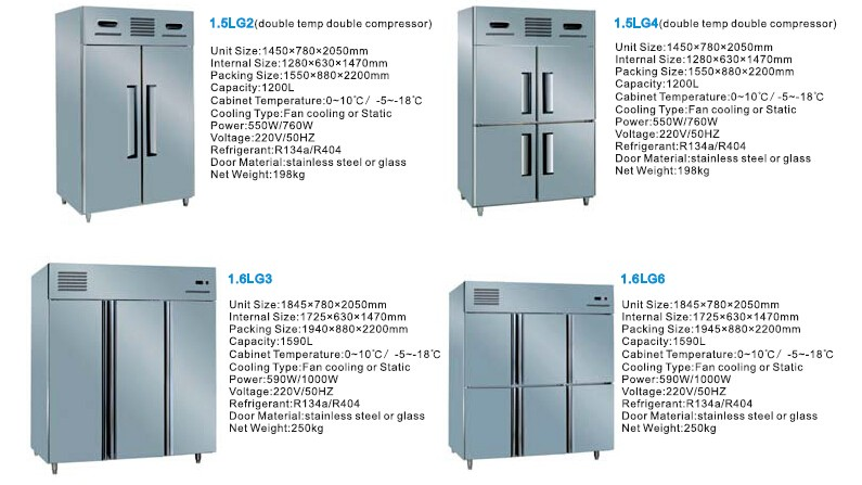 Commercial Deep Freezer with Digital Control/Professional Deep Freezer