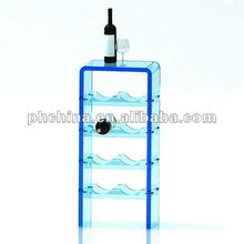 VC-5201 New Custom Modern Acrylic Wine Bottle Display Stand