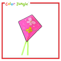 2015 new design kids kite making materials, hot sale pocket kite
