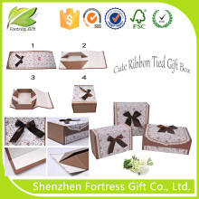 2015 New Product Fancy Gift Box for Christmas Decorations