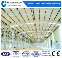 Low Cost Light Steel Structure Warehouse/Steel Frame Building for Sale