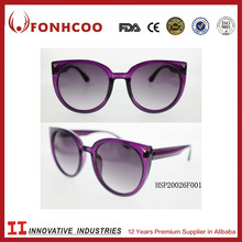 FONHCOO 2018 Custom New Style Colorful AC Lens Ladies Sunglass With CE Certificate