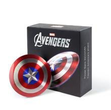 power bank 6800mAh Solid Shell Dual USB / The Avengers Captain America Shield Charge Mobile Power Supply portable charger