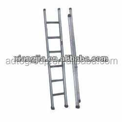 6 steps folding aluminum foldable scaffold ladder