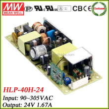 Meanwell HLP-40H-24 dc 24v ajustable led power driver