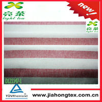 cotton fabric horizontal stripe canvas for garment