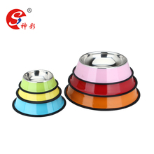 Popular Stainless Steel Colorful Pet Bowl/Pet Feeder