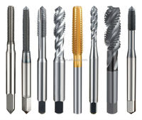 Solid Carbide Metric Spiral Flute Combination machine plumbing tool set
